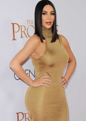 Kim Kardashian - 'The Promise' Premiere in Los Angeles