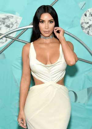 Kim Kardashian - Tiffany & Co. Celebrates 2018 Tiffany Blue Book Collection in NY