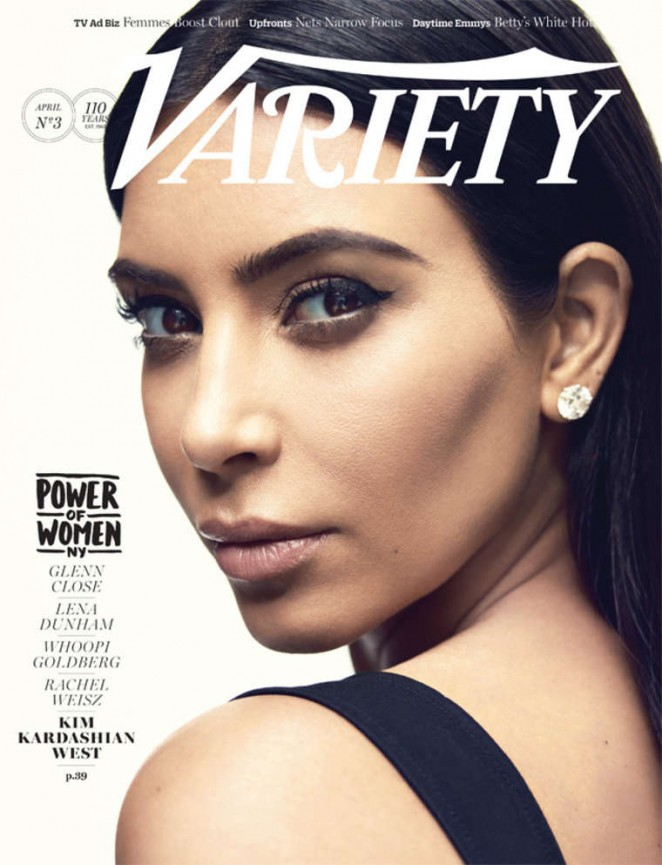 Kim Kardashian - Variety Magazine Cover (April 2015)