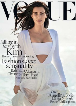 Kim Kardashian - Vogue Australia 2015 -02