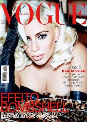Kim Kardashian: Vogue Brazil 2015 -02