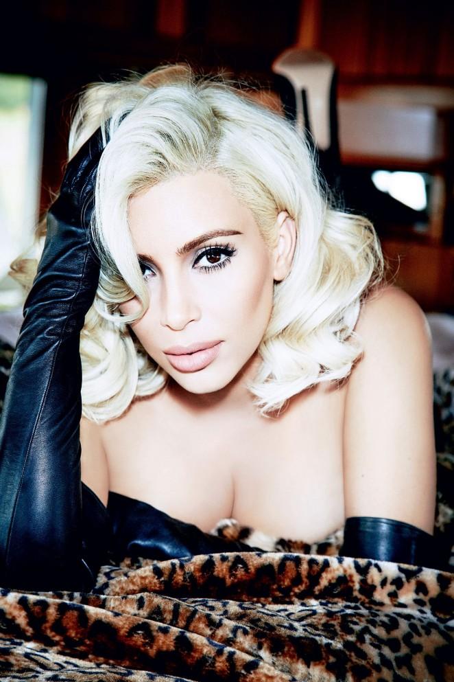 Kim Kardashian – Vogue Brazil Magazine (June 2015)