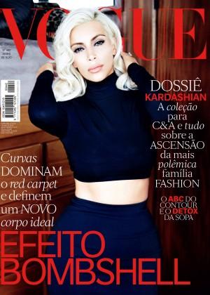 Kim Kardashian: Vogue Brazil 2015 -05