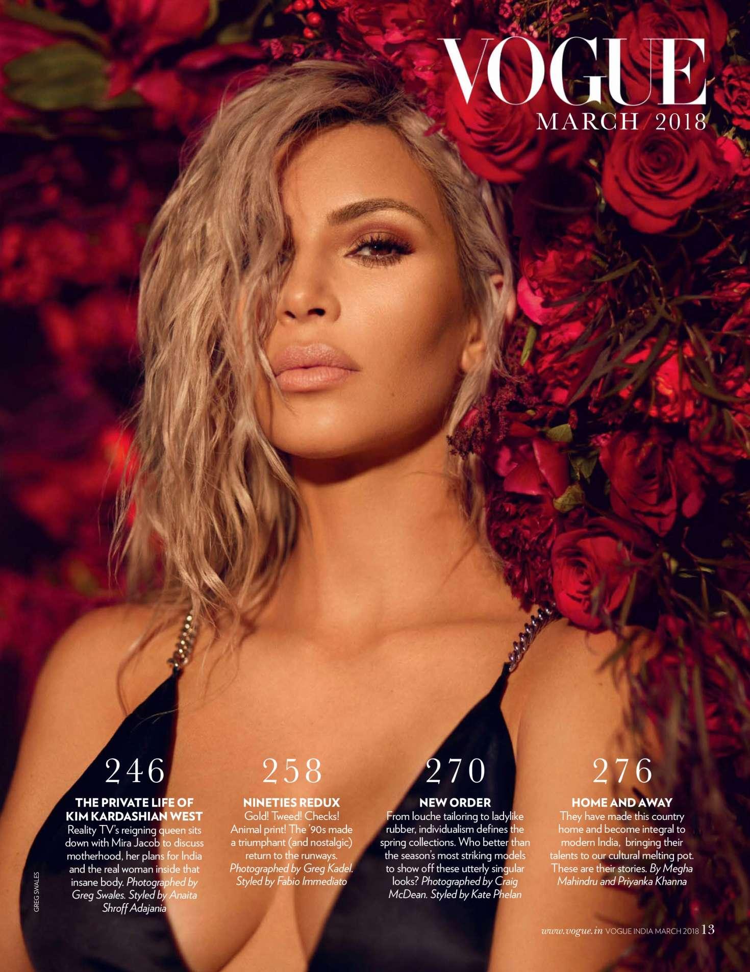 Kim Kardashian 2018 : Kim Kardashian: Vogue India 2018 adds -01