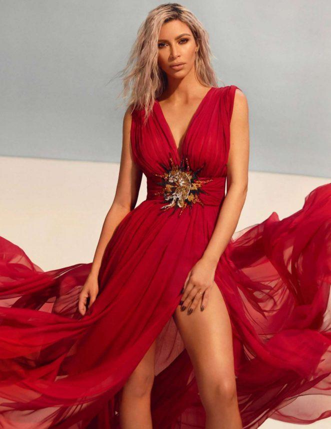 Kim Kardashian - Vogue India Magazine (March 2018) adds