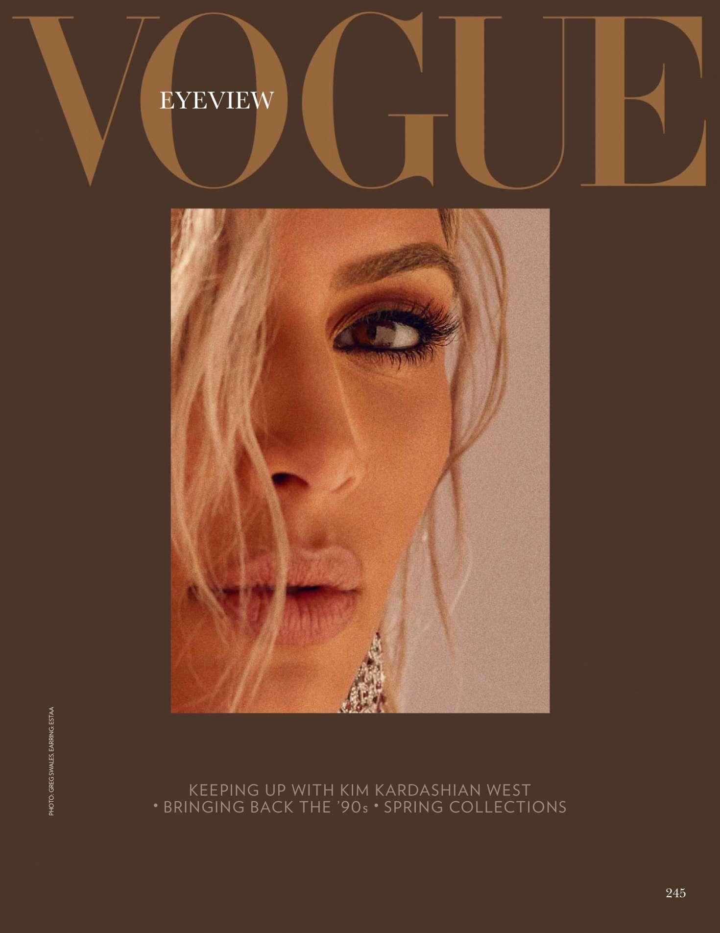 Kim Kardashian 2018 : Kim Kardashian: Vogue India 2018 adds -19