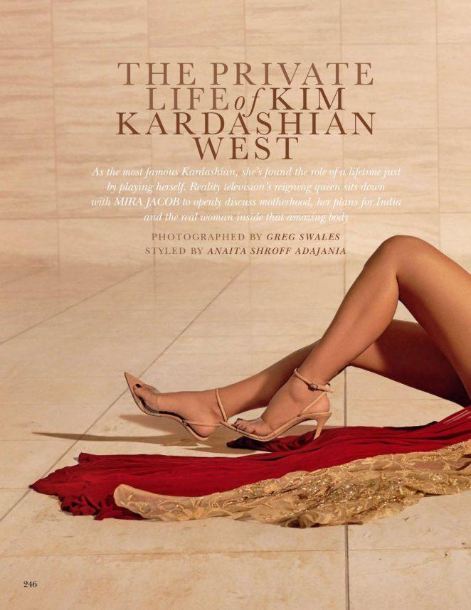 Kim Kardashian 2018 : Kim Kardashian: Vogue India 2018 adds -20