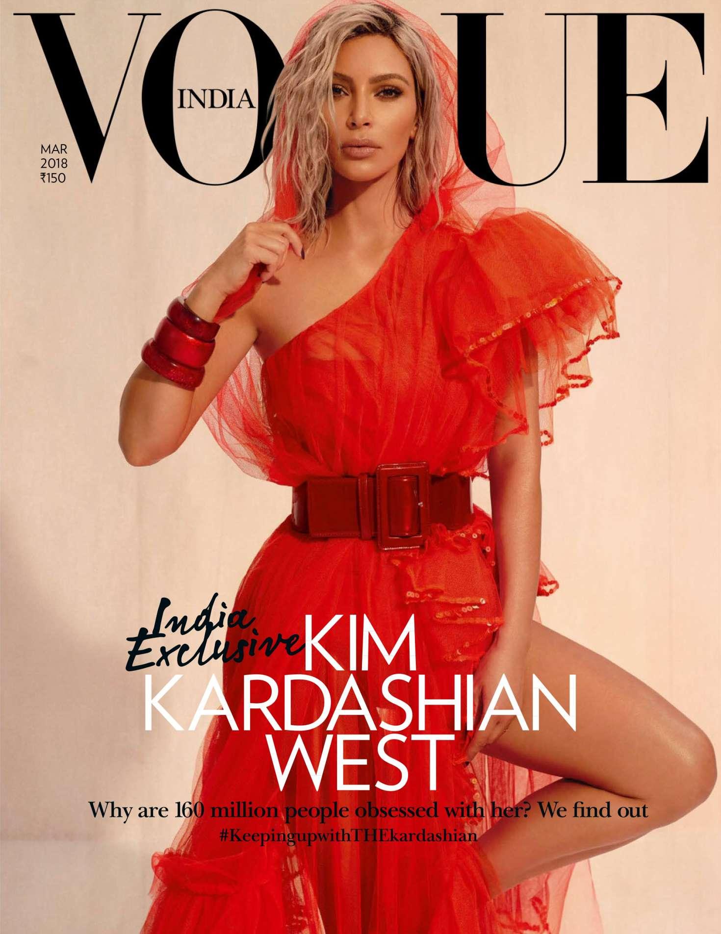 Kim Kardashian 2018 : Kim Kardashian: Vogue India 2018 adds -21