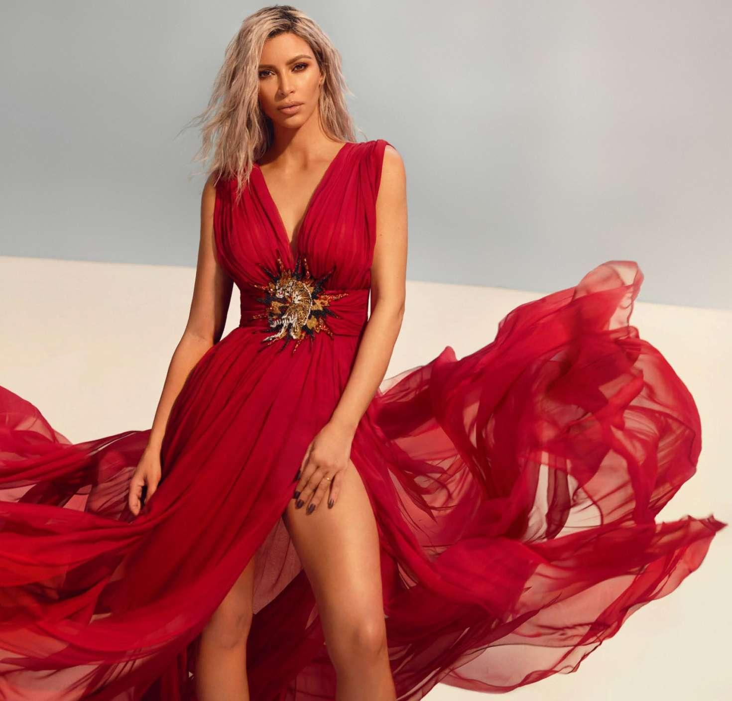 Kim Kardashian 2018 : Kim Kardashian: Vogue India 2018 adds -22