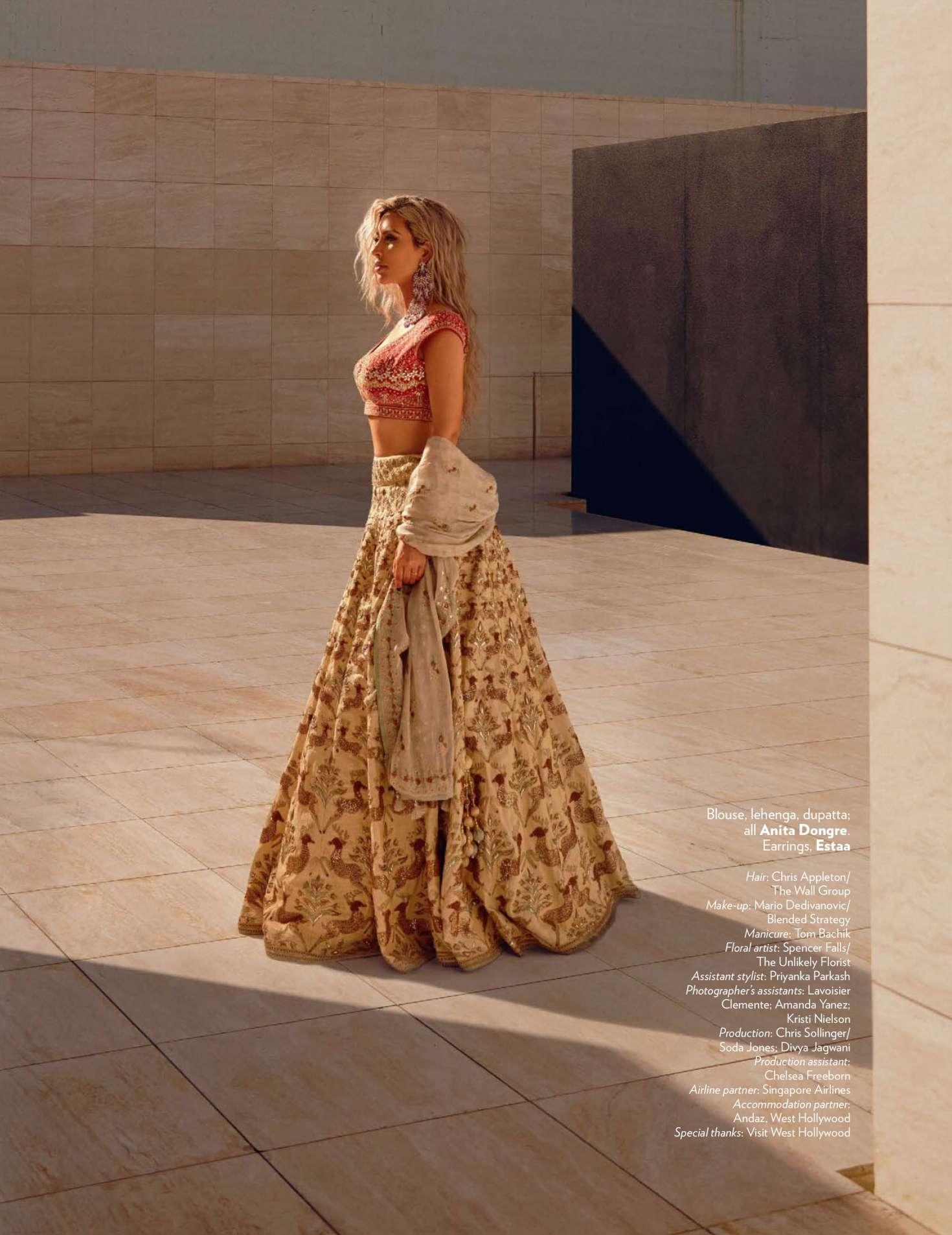 Kim Kardashian 2018 : Kim Kardashian: Vogue India 2018 adds -25