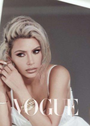 Kim Kardashian - Vogue Taiwan Magazine (February 2018)