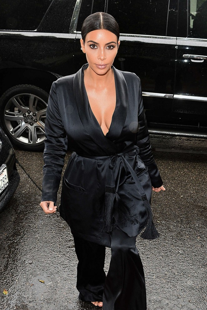 Kim Kardashian – W Magazine Luncheon in LA