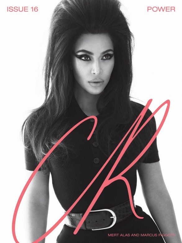 Kim Kardashian West with Cher and Naomi Campbell - CR Fashion Book No16 SS 2020