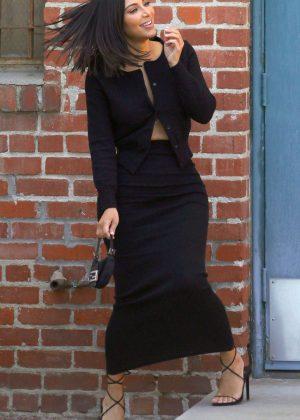 Kim Kardashianat LILY et Cie in Beverly Hills