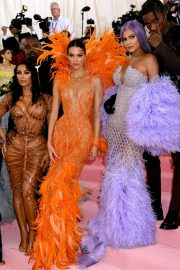 Kim Kendall and Kylie - 2019 Met Gala in NYC