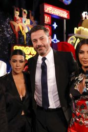 Kim, Kourtney and Khloe Kardashian - On Jimmy Kimmel Live in Las Vegas