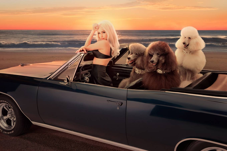 Kim Petras - Joey James Photoshoot for 'Malibu' Single 2020