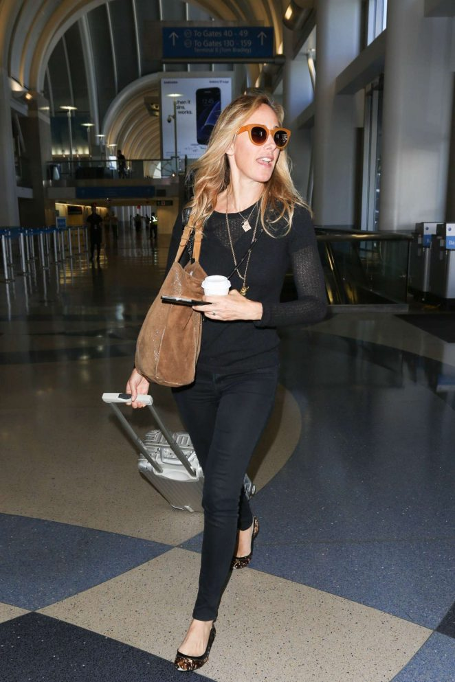 Kim Raver Arriving at LAX Airport in Los Angeles