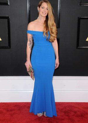 Kim Rosen - 59th GRAMMY Awards in Los Angeles