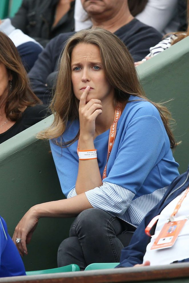 Kim Sears - 2017 French Open at Roland Garros in Paris
