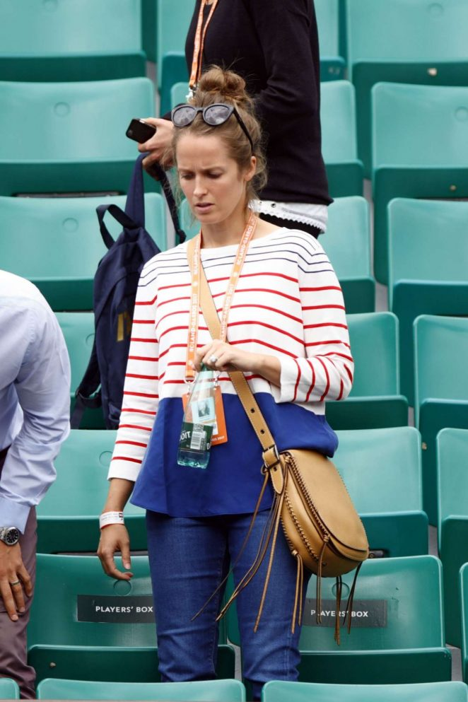 Kim Sears at 2017 Roland Garros in Paris