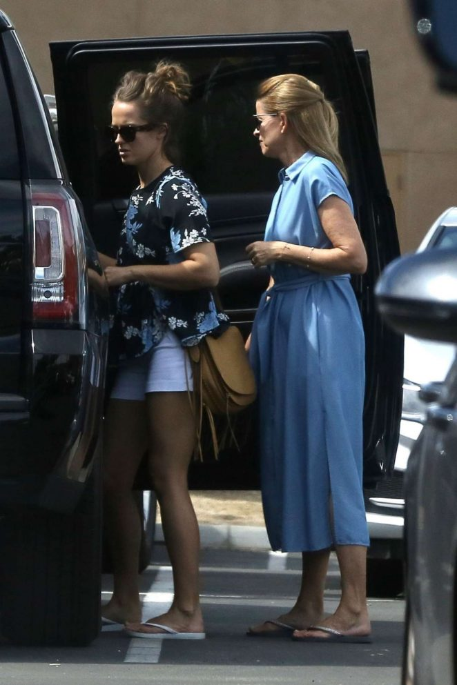 Kim Sears in Shorts Out in Palm Springs