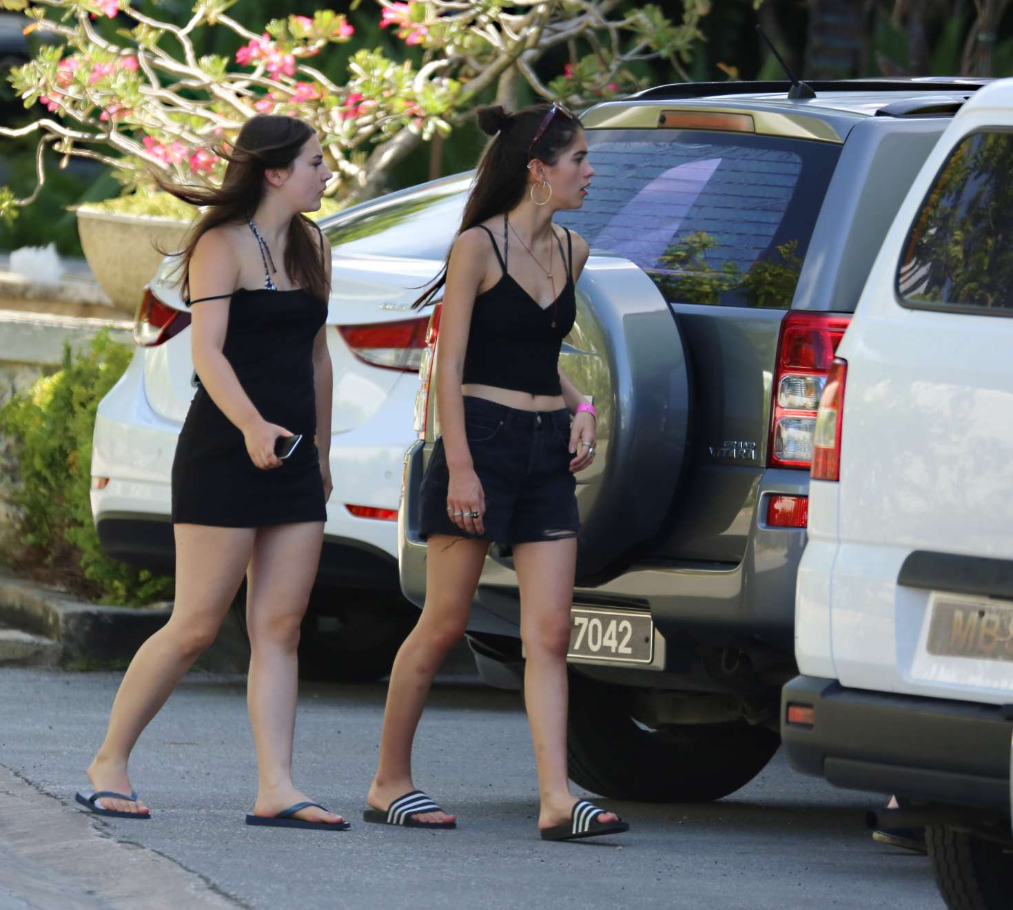Kim Turnbull 2017 : Kim Turnbull out and about in Barbados -08