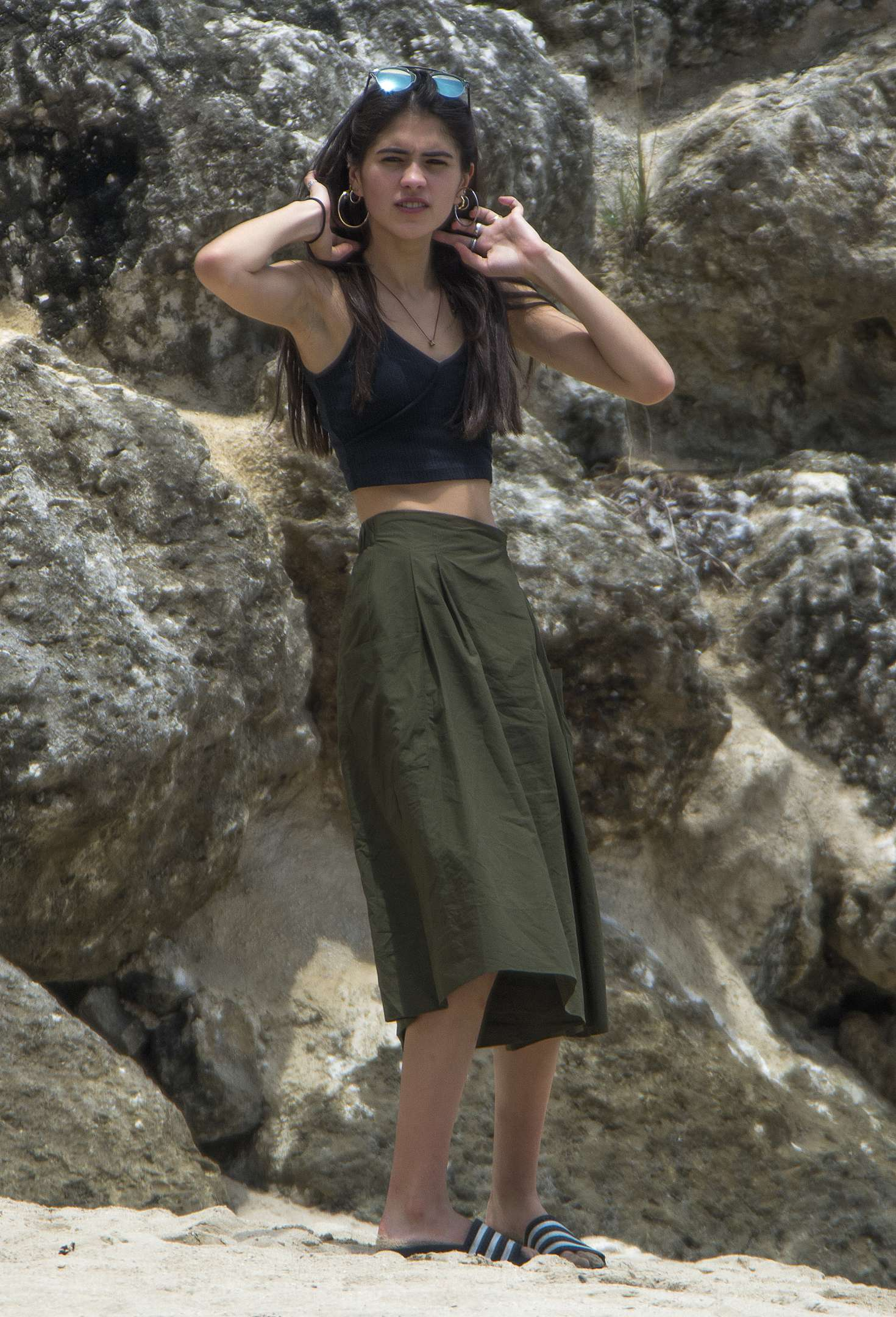 Kim Turnbull 2017 : Kim Turnbull out and about in Barbados -10