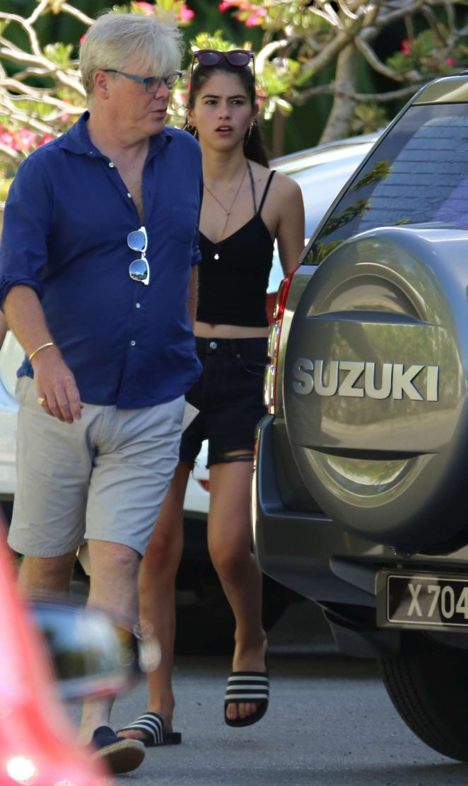 Kim Turnbull out and about in Barbados -31