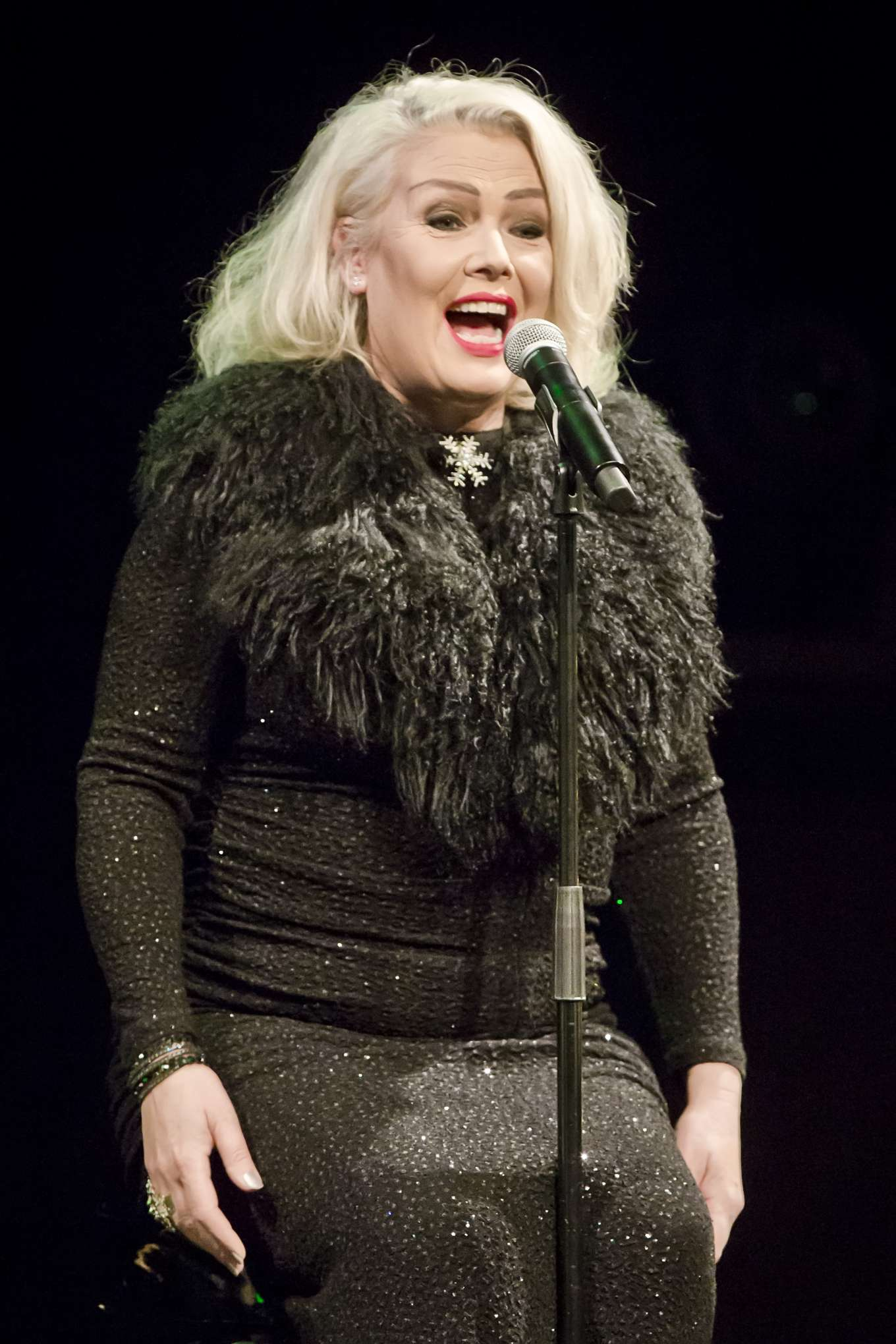 Kim Wilde - Performs Live During a Concert in Berlin
