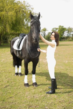Kimberleigh Gelber - Horse riding in Richmond Park - London