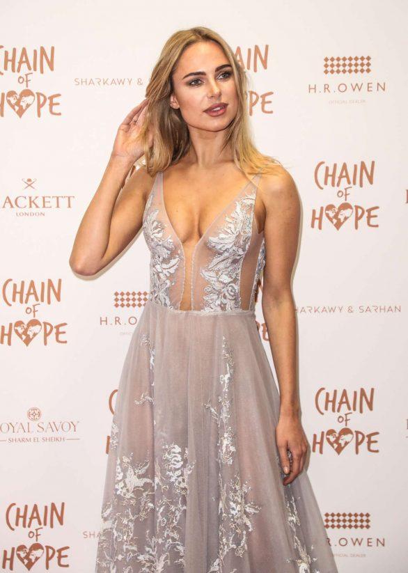 Kimberley Garner - 2019 Chain Of Hope Gala Ball in London