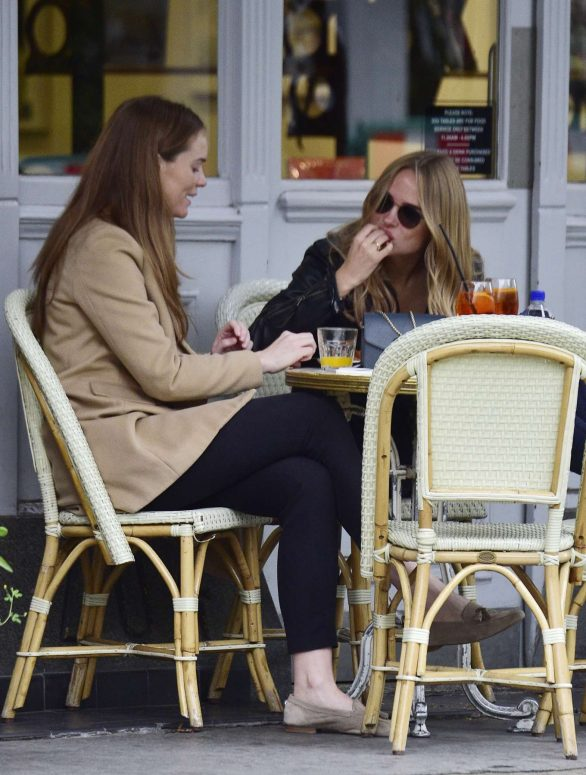 Kimberley Garner and Ellie Lyons - Out in West London