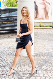 Kimberley Garner - Arrives at the Martinez Hotel in Cannes