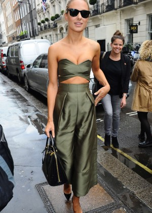 Kimberley Garner at Victoria Beckham's Flagship Store in London