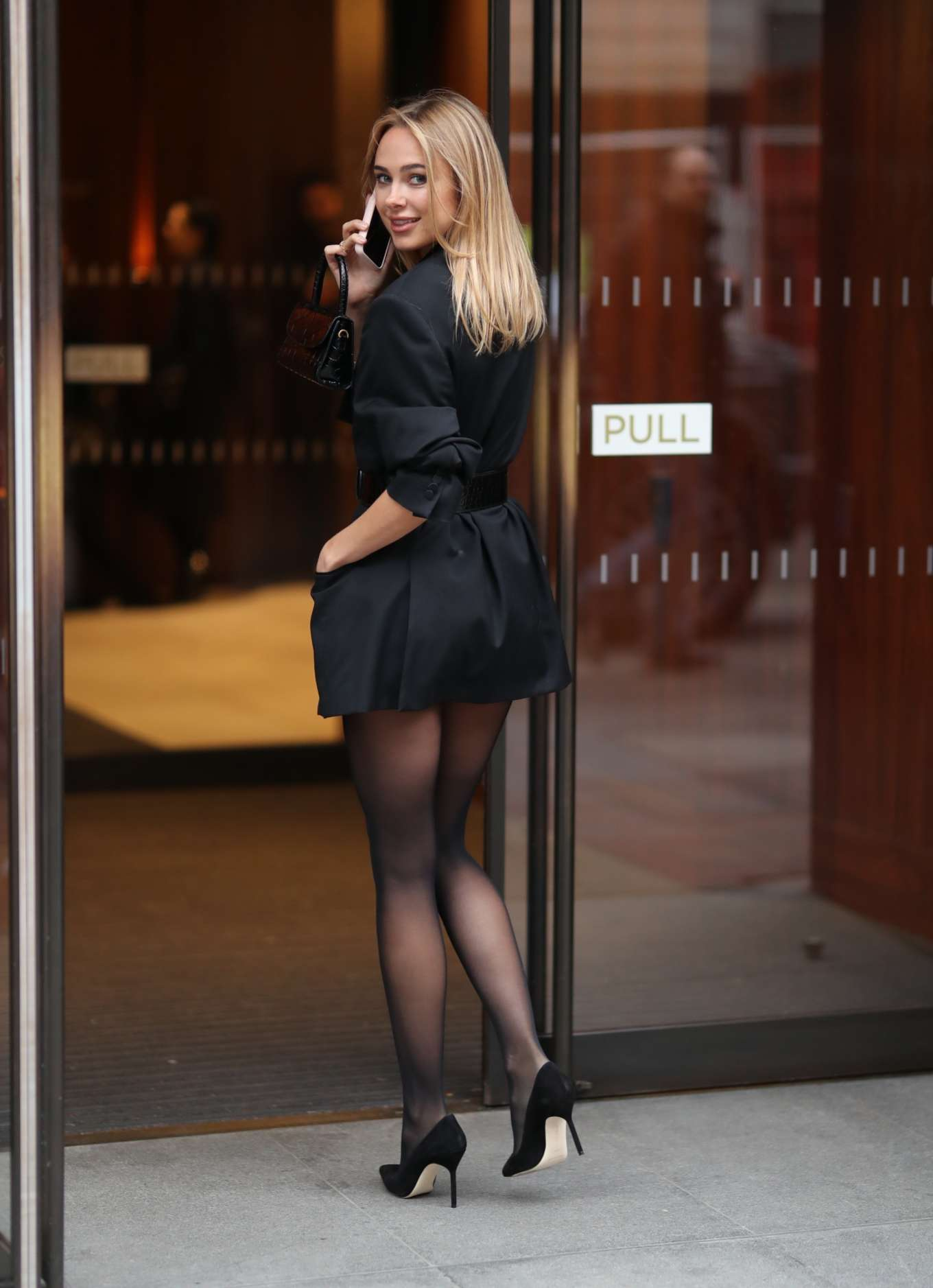 Kimberley Garner - Atelier Zuhra show at 2020 London Fashion Week