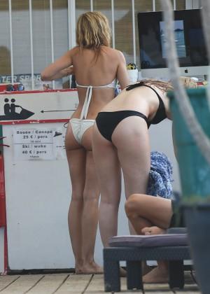Kimberley Garner in White Bikini -08