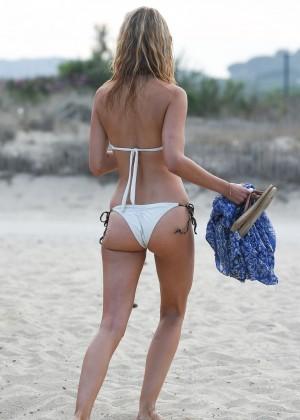Kimberley Garner in White Bikini -15