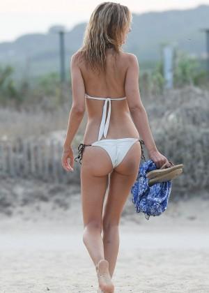 Kimberley Garner in White Bikini -20