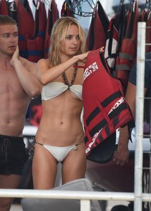 Kimberley Garner in White Bikini -24