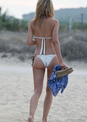 Kimberley Garner in White Bikini -28