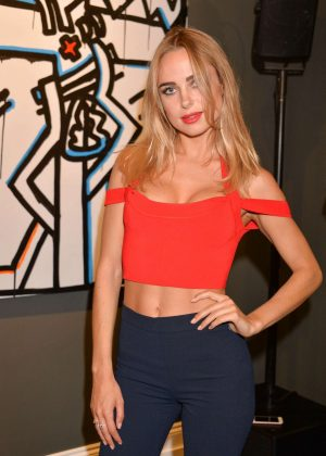 Kimberley Garner - Danny Minnick 'One Love' Exhibition in London