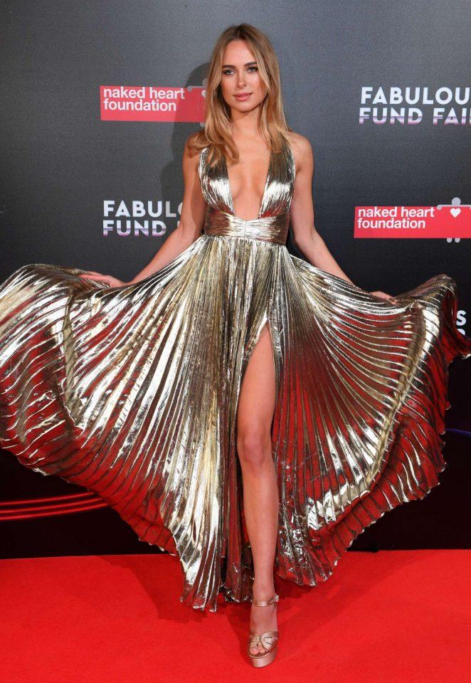 Kimberley Garner: Fabulous Fund Fair Gala 2018 -05