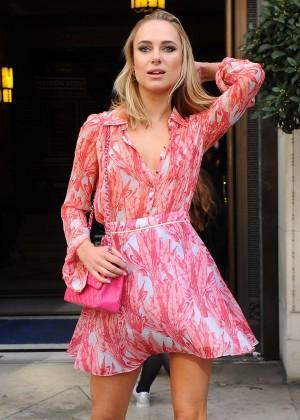 Kimberley Garner - Felder Fashion Show at 2016 London Fashion Week