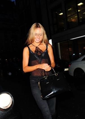 Kimberley Garner - Gary Cockerill Book Launch in London
