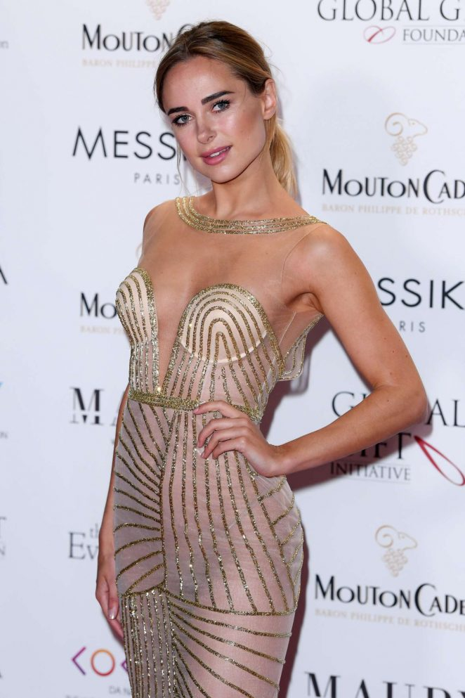 Kimberley Garner - Global Gift Gala at 70th Cannes Film Festival in France