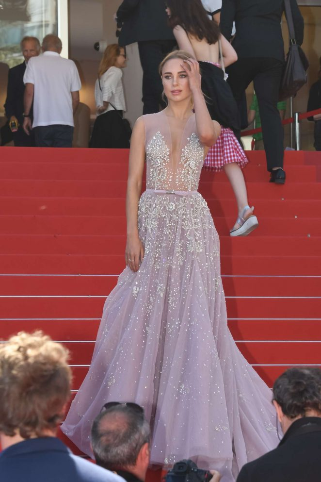 Kimberley Garner - 'How to Talk to Girls at Parties' Premiere at 70th Cannes Film Festival