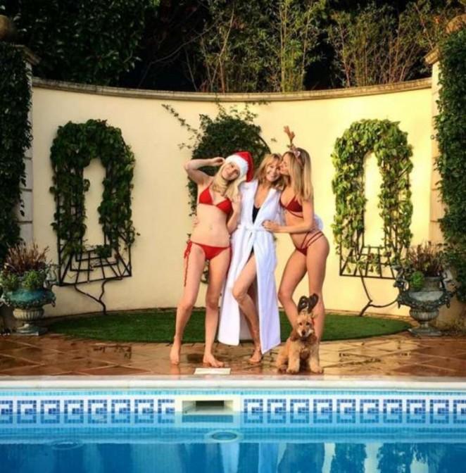 Kimberley Garner in Red Bikini -07