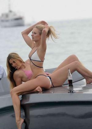 Kimberley Garner in White Bikini -04