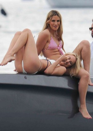 Kimberley Garner in White Bikini -05
